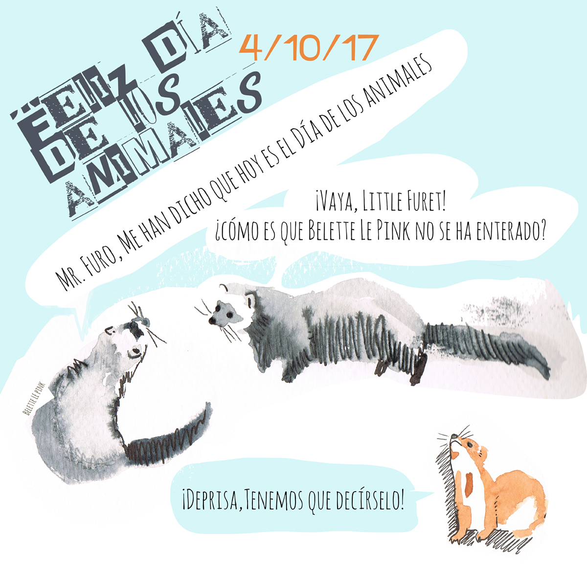 WORLD ANIMAL DAY 2017