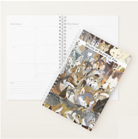 2019 Calendar and Stationey by Belette Le Pink