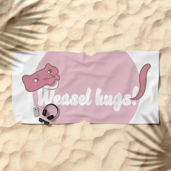 Belette Le Pink in Society6