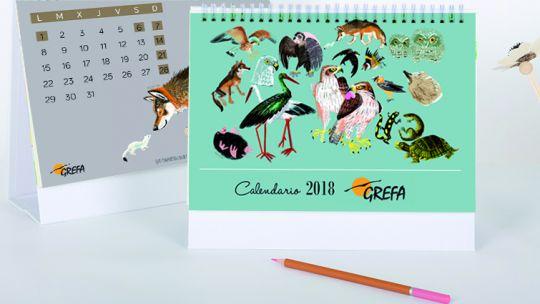GREFA Calendar 2018