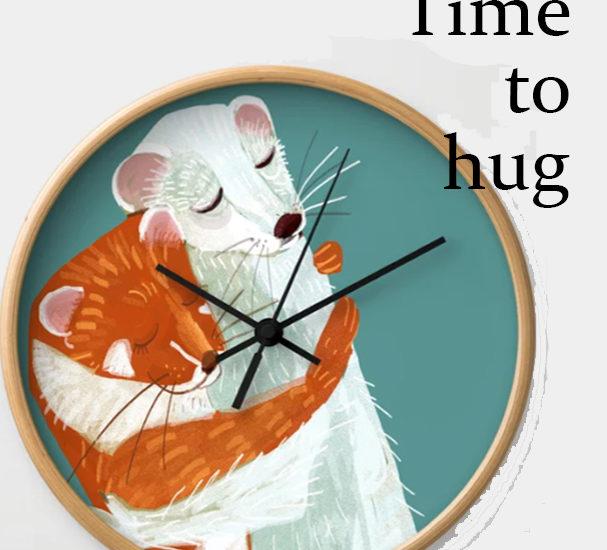 Weasel hugs